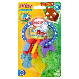 Nuby Ice Bite Teether Keys
