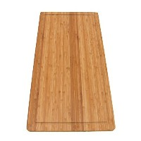 BambooMN Brand Bamboo Burner Cover/Cutting Board for Viking Cooktops, New Vertical Cut, Large,...
