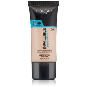 ◆Direct from USA◆ L Oreal Paris Cosmetics Infallible Pro-Glow Foundation Classic Ivory 1 Fluid Oun