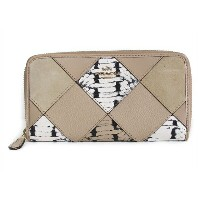 【スペシャル】コーチ 長財布 スネーク パッチワーク COACH Snake Patchwork Accordion Zip F57591 IMEQP IM/Beechwood Multti ...