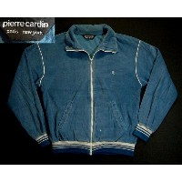 osw754 M USA産 Pierre Cardin ベロア ジャージトップ 古着 【中古】 アメリカ古着