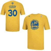 Stephen Curry Golden State Warriors adidas Net Number T-Shirt メンズ Gold NBA ネットナンバー Tシャツ カリー...