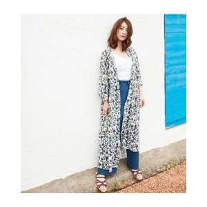BY∴ リバティプリント シャツワンピース -2WAY-【ビューティアンドユース ユナイテッドアローズ/BEAUTY&YOUTH UNITED ARROWS レディス ワンピース OFF WHITE...