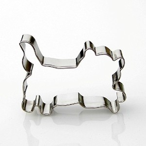 Mini Running Cat Cookie cutter-ステンレススチール