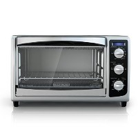 Black & Decker 6-Slice Toaster Oven, Black [並行輸入品]