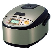 Zojirushi NS-LHC05XT Micom Rice Cooker & Warmer, Stainless Dark Brown by Zojirushi