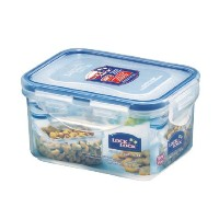 Lock & Lock 15-Fluid Ounce Water Tight Rectangular Food Container, Short, 1.9-Cup by LockandLock