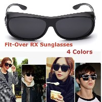 Polarized Fit-Over Specs Sunglasses/ Fit-over-shade/ Polarized for men /women 4 colors