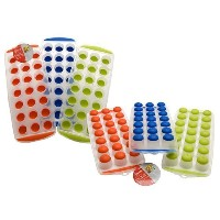 21 Hole Ice Cube Tray - 2 Assorted Colours.