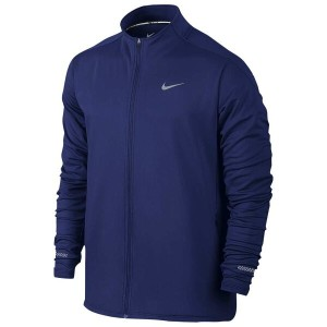 ナイキ メンズ ランニング・ウォーキング アウター【Nike Dri-FIT Thermal Full Zip Jacket】Deep Royal Blue/Reflective Silver