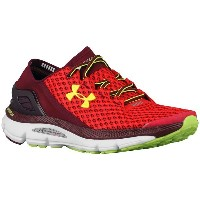 アンダーアーマー メンズ スニーカー シューズ Men's Under Armour Speedform Gemini Red/White/High-Vis Yellow