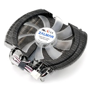 Zalman vf2000 LED dual-purpose hybrid-cooler CPUビデオカードクーラー小売