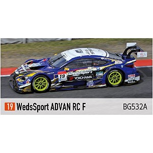 ピーフォー Bugzees64 1/64 WedsSport ADVAN RC F No.19 SUPER GT 2014