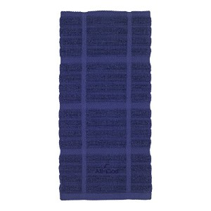 All-Clad Textiles 100-Percent Cotton Solid Kitchen Towel, Cobalt by All Clad Textiles