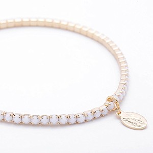 ma chere Cosette? シェリーアンクレット Cherie Anklet ホワイト