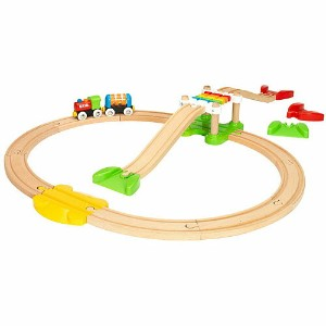 BRIO ブリオ マイファーストビギナーセット 木のおもちゃ 電車 子供 誕生日プレゼント 誕生日 男の子 男 出産祝い 1歳 2歳 3歳  列車 ギフト 北欧 おもちゃ 乗り物 安心 幼児 玩具...