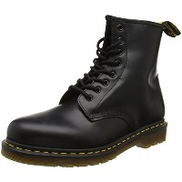 Dr Martens 1460 Smooth Leather Boots (5 UK, Black)