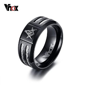 9 Mm Stainless Steel Ring For Men