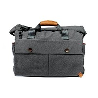 PKGザ・LB05 Rolltopダッフルバッグ - ダークグレー PKG The LB05 Rolltop Duffle Bag - Dark Grey