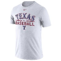 ナイキ メンズ Tシャツ トップス Men's Nike MLB Home Practice T-Shirt White