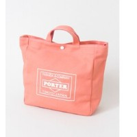 UR TRAVEL COUTURE by LOWERCASE キャンバストートバッグM【アーバンリサーチ/URBAN RESEARCH メンズ, レディス トートバッグ PINK ルミネ...