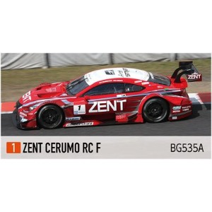ピーフォー Bugzees64 1/64 ZENT CERUMO RC F No.1 SUPER GT 2014