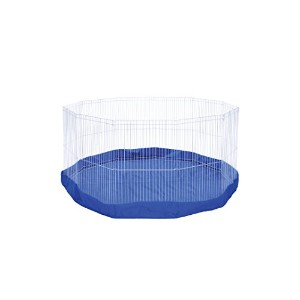 Prevue Pet Products SPV40098 Mat/Cover for 11-Panel Play Pen, Blue by Prevue Pet Products