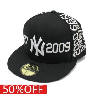 【ニューエラ/メンズ/NEW ERA/ジュニア】 59FIFTY NEYYAN SPIKES JOINT NUMBER CAP