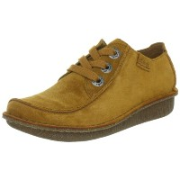 [クラークス] Clarks Funny Dream 20352215 Mustard Yellow Suede (Mustard Yellow Suede/3.5)