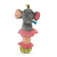 Mud Pie Elephant Safari Stick Rattle by Mud Pie