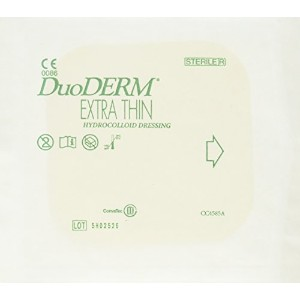 Convatec DuoDERM Extra Thin Dressing, Square, 6 x 6, 10 per Box by ConvaTec