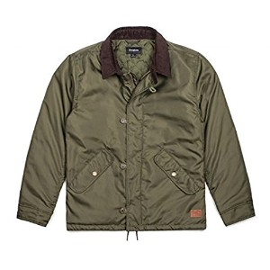Brixton Pinnacle Jacket Olive M 並行輸入品
