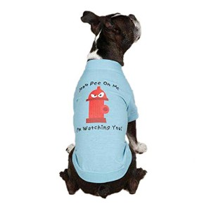 Casual Canine ZM351 14 19 Hydrant Tee for Dogs, Small/Medium, Blue by Casual Canine