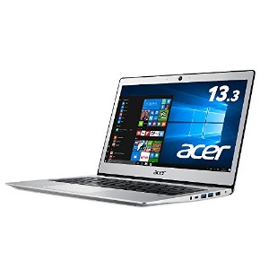 acer Swift1 SF113-31-A14Q/S (Celeron N3350/4GB/128G eMMC/ドライブなし/13.3/Win10 Home(64bit)/APなし)