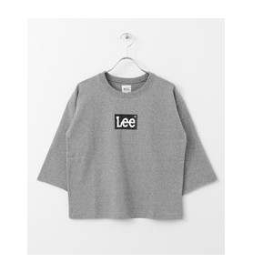 DOORS Lee×DOORS-natural- LEE LOGO T-SHIRTS【アーバンリサーチ/URBAN RESEARCH レディス その他(トップス) GRAY ルミネ LUMINE】