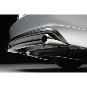 【BENZ CLS W219(C219) | ヴァルド】CLS-class W219 SPORTS LINE D.T.M SPORTS EXHAUST SYSTEM OVAL 120W×2(オ...