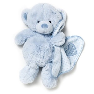 Nat and Jules Plush Toy, Blue My First Teddy Bear by Nat and Jules