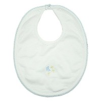 Kissy Kissy Baby Boys Homeward Bound Moon And Stars Embroidered Bib-One Size by Kissy Kissy