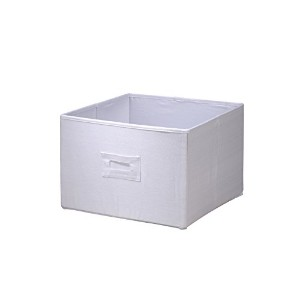 Wendy Bellissimo Canvas Bin, Ivory by Wendy Bellissimo