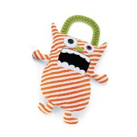 Mud Pie Candy Monster Bags, Orange by Mud Pie