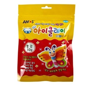 Single Color Clay 50g (Red) by AMOS