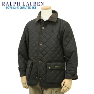 "(2-7) POLO by Ralph Lauren ""BOY (2-7)"" Quilted Jacket USラルフローレン 子供用のキルティングジャケット (UPS)"
