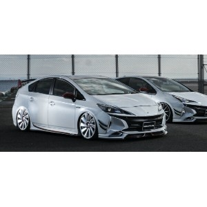 【30 プリウス | ヴァルド】TOYOTA PRIUS ZVW30 SPORTS LINE WALD 50 LOOK LEDライト