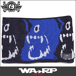 ローリングクレイドル ROLLING CRADLE CYCLOPS SHOUT NECK WARMER(BLUE BLACK)