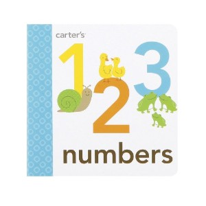 Carter's Mini Board Book, Numbers by Carter's