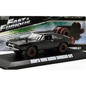"""GREENLIGHT 1:43SCALE """"FAST&FURIOUS 7"""" """"DOM'S 1970 DODGE CHARGER R/T OFF ROAD""""(BLACK) グリーンライト 1..."""