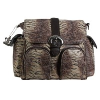 Kalencom Double Duty Diaper Bag, Safari by Kalencom