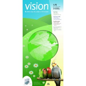 Vision Bird Cage Paper, Large 28-Inch by 14-Inch by Vision