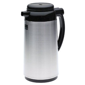 Zojirushi Premium Thermal 1-Liter Carafe, Brushed Stainless Steel by Zojirushi