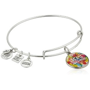 Alex and Ani Charity by Design Peace Of Mindバングルブレスレット One Size
